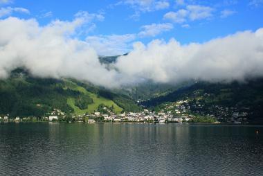 Jezero Zeller See v Rakousku