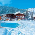 Rakouský penzion Zur Mühle v zimě